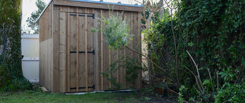 Abri de jardin complet – ARÈS